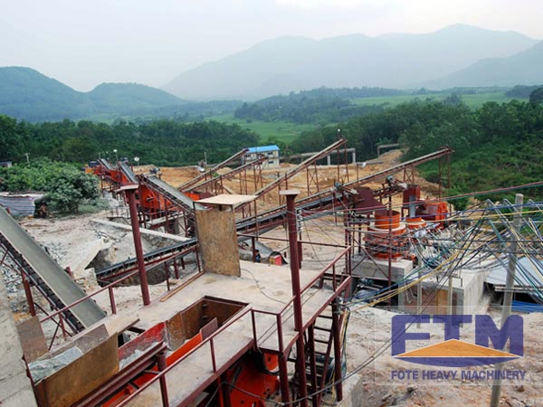 450t/h Stone Crushing Plant